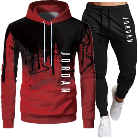 2 Pieces Sets Tracksuit Men