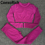 Yoga Set Women Fitness Gym Clothing Sport Suit