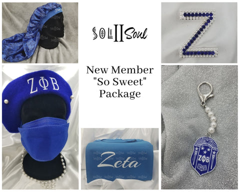"""So Sweet"" New Member Package"