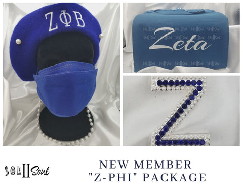 """Z-Phi"" New Member Package"