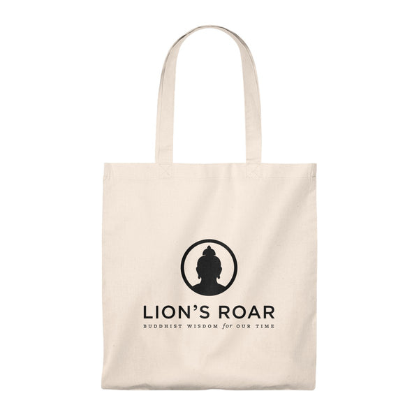 Lion's Roar Cotton Tote Bag