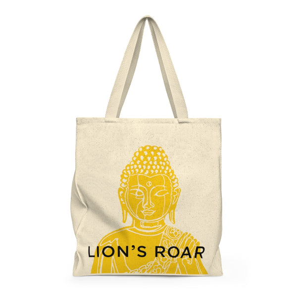Golden Buddha Tote Bag - Lion's Roar