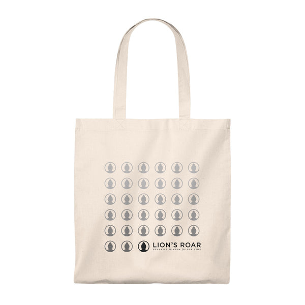 Lion's Roar Summer Cotton Tote Bag