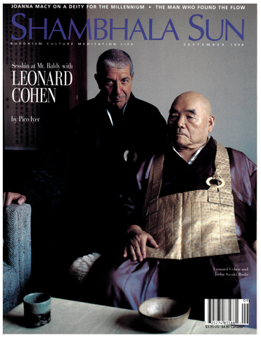 September 1998 - Sesshin at Mt. Baldy with Leonard Cohen, by Pico Iyer
