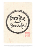 """Breathe and smile"" print - Thich Nhat Hanh"