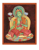 """Green Tara, Bodhisattva of Compassion in Action"" – Laura Santi"