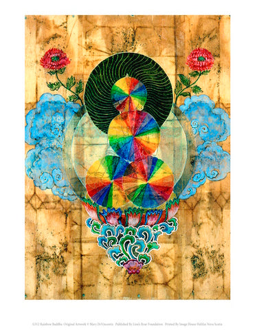 Rainbow Buddha – Mary DeVincentis