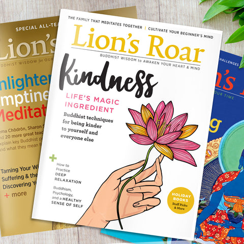 Lion's Roar Magazine Introductory Subscription Offer