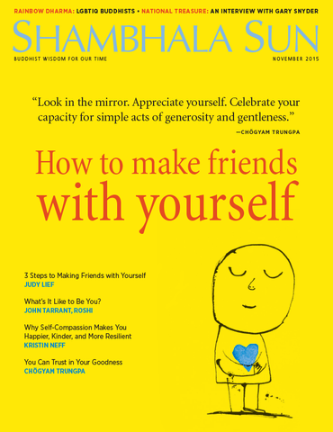 November 2015 - How to make friends with yourself