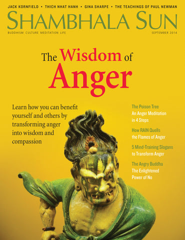 September 2014 - The Wisdom of Anger