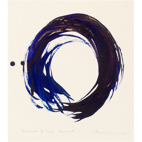 """Miracles of Each Moment, No. 2"" print - Kazuaki Tanahashi"