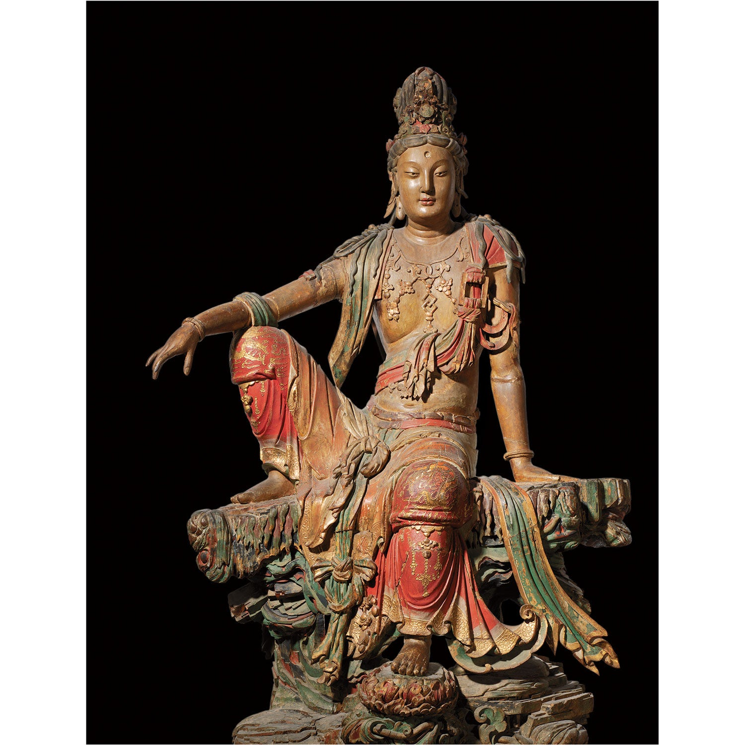 "Seated Guanyin Bodhisattva (Cover Edition)"" print – Lion's Roar"