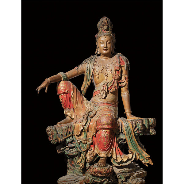 """Seated Guanyin Bodhisattva (Cover Edition)"""