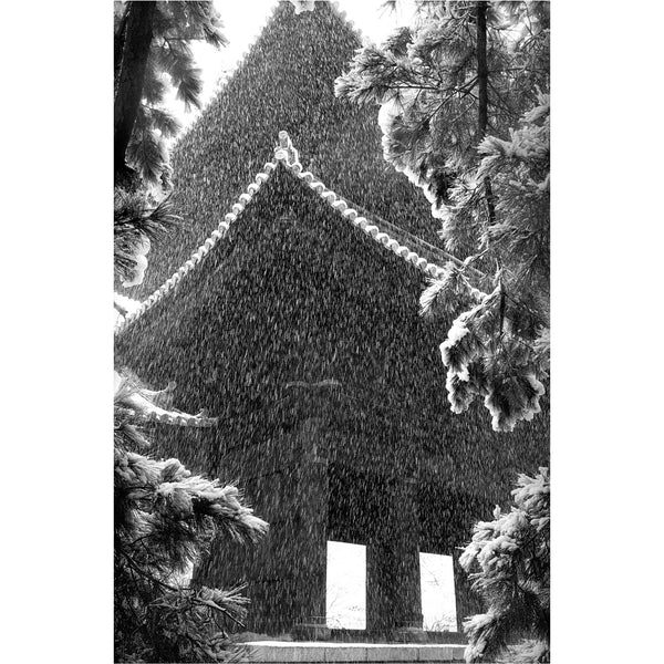 """Snow at Nanzenji"" print"