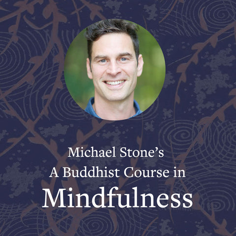 Michael Stone's A Buddhist Course in Mindfulness – Online Learning