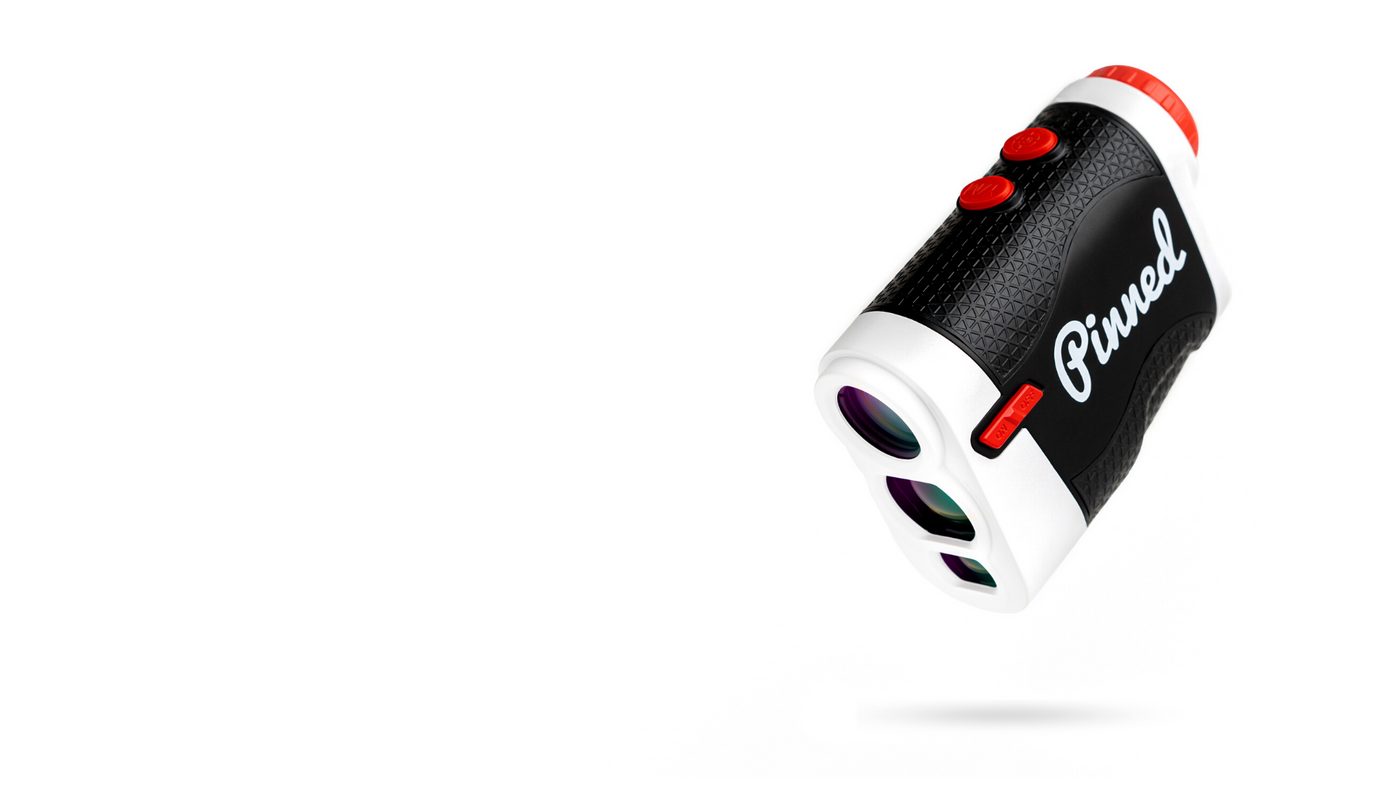The Ace golf rangefinder. One of the most affordable golf rangefinders on the course.