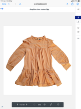 Load image into Gallery viewer, Daughter Dress Mustard