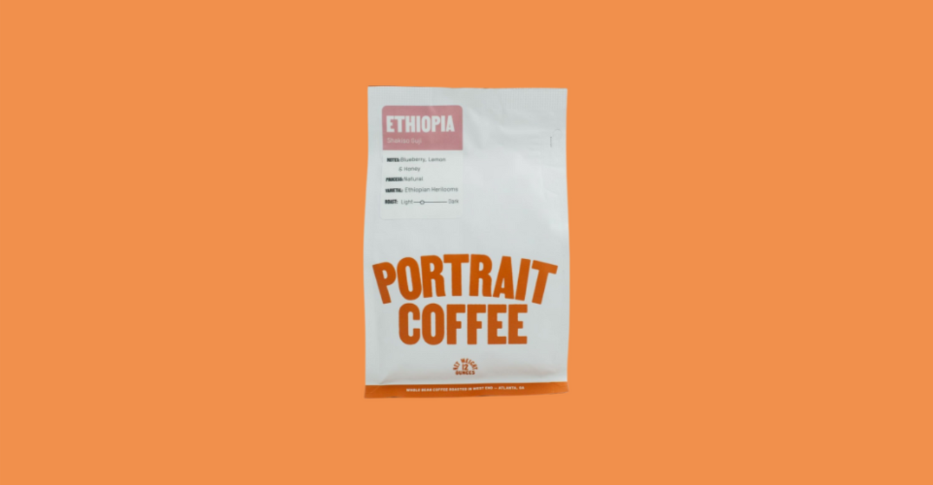 Ethiopian Guji roasted by Portrait Coffee