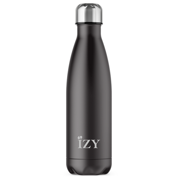 Izy Bottles Mr. Black 500 ml fles, Tasty & Gifts