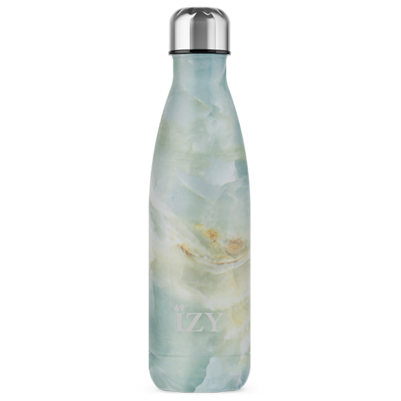 Izy Bottles Marble Green 500 ml fles, Tasty & Gifts