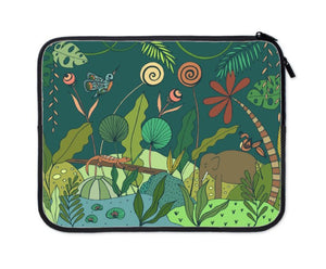Regenwoud laptop sleeve 13 inch