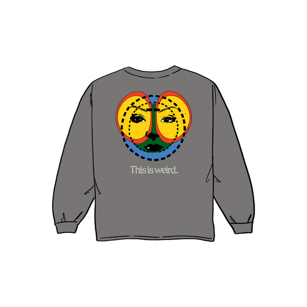 AHEAD OR HEAD Long Sleeved Tee | Grey