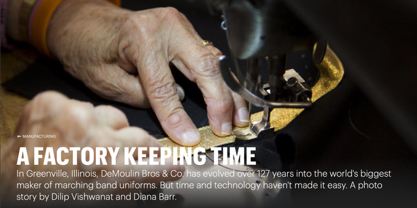 A Factory Keeping Time - The St. Louis Business Journal