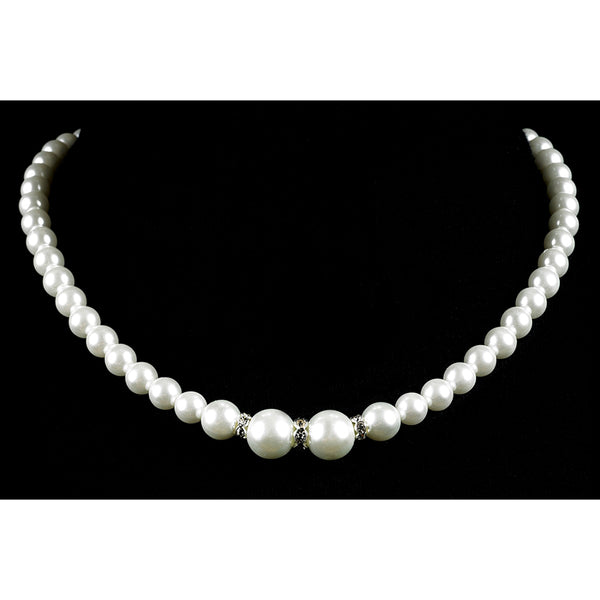 Strung Pearl Necklace