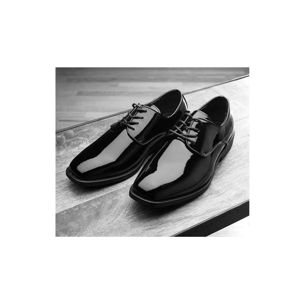 Front Lace-Up Formal Shoe - Mens & Boys (Black or White)