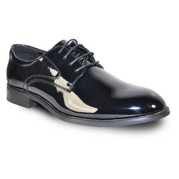 Tab Oxford Formal - Black Patent Finish