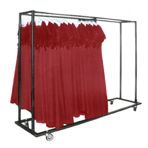 6' Side by Side Choir Robe Caddy