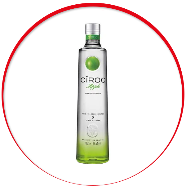 Ciroc Apple Vodka - 70cl