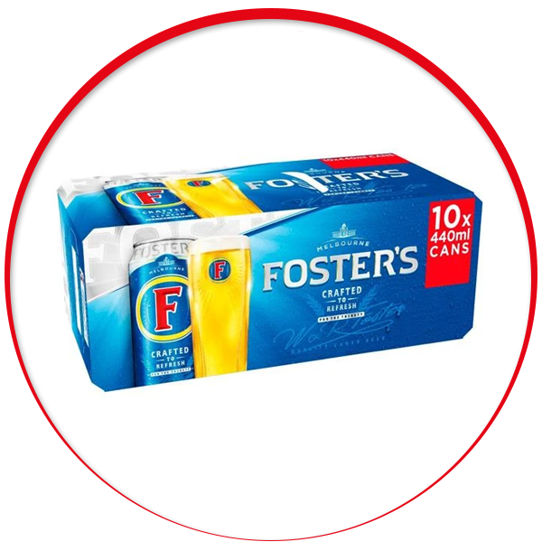 Fosters 10 x 440ml
