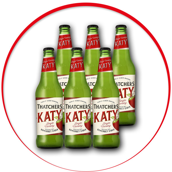 Thatchers Katy Bottle, 6 x 500ml