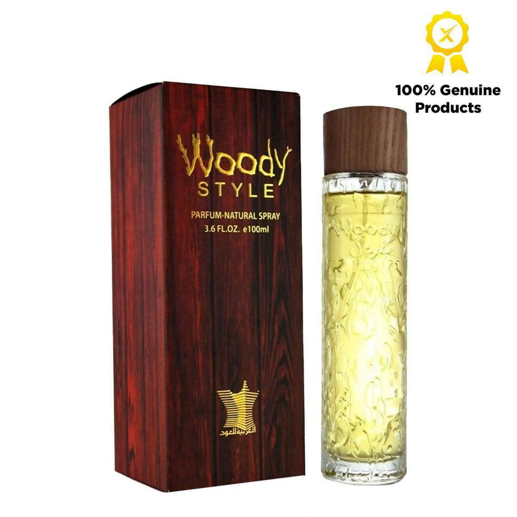 WOODY STYLE 100ML By Arabian Oud Unisex Spray