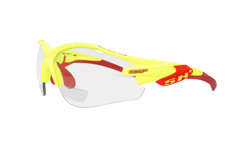SH+ RG 5000 Yellow & Red | Cycling Glasses Australia | Photochromic Cycling Glasses with Sports Readers