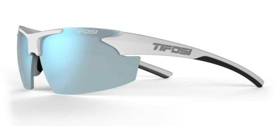 Tifosi Track White/Black | Cycling Glasses Australia | Photochromic Cycling Glasses with Sports Readers