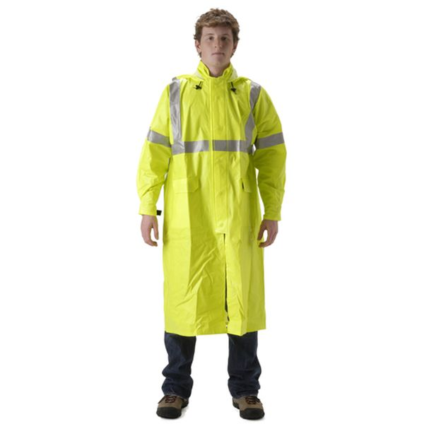 NASCO FR ARCLITE HI VIS FULL LENGTH RAIN COAT