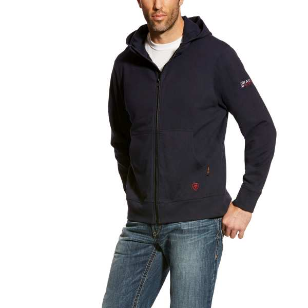ARIAT FR DURASTRETCH FULL ZIP HOODIE