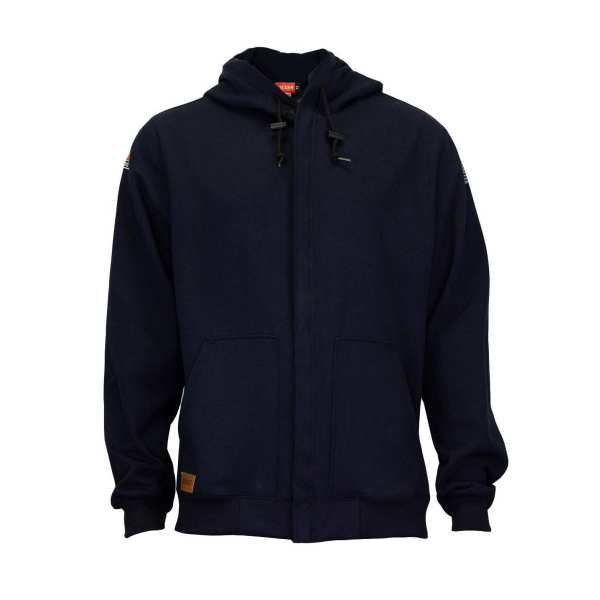 NSA/TECGEN FR HOODED ZIP SWEATSHIRT