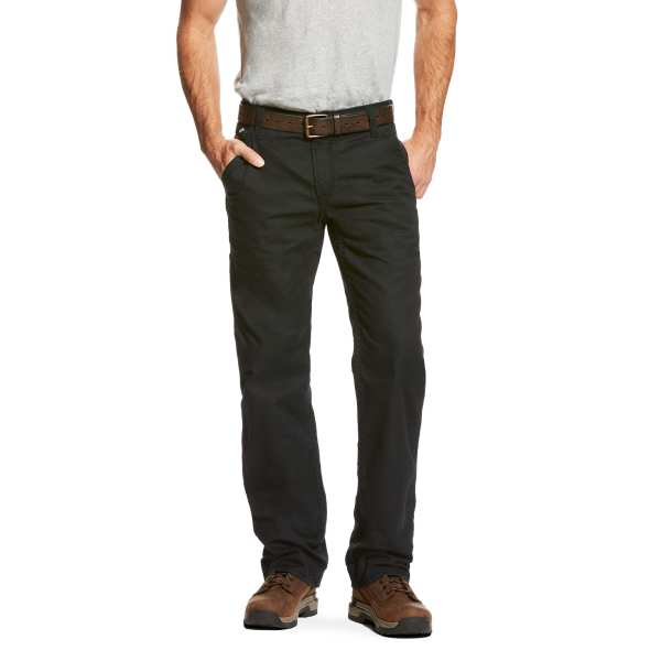 ARIAT FR M4 BLACK WORKHORSE CARPENTER PANT