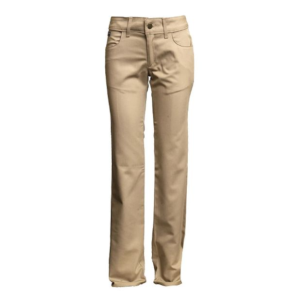 LAPCO FR WOMEN'S KHAKI UNIFORM PANT