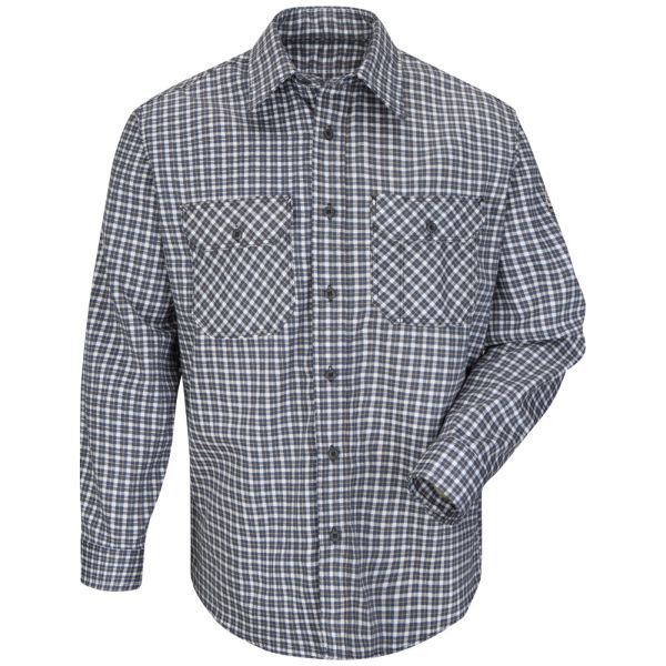BULWARK FR PLAID UNIFORM SHIRT