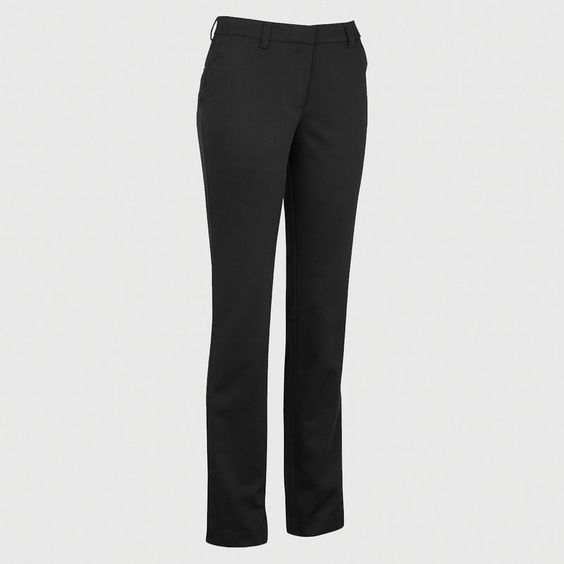 Ladies' Slim Chino Flat Front Pants