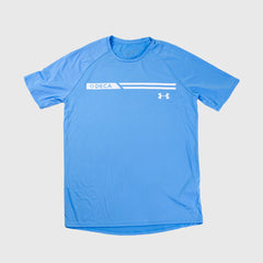 Tech Tee 2.0 by Under Armour (Chambray)