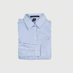 Men's Performance Micro Windowpane Shirt