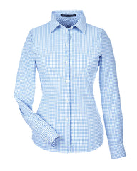 Ladies' Performance Micro Windowpane Shirt