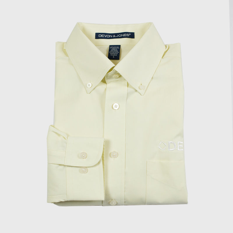 Men's Yellow Dress Shirt