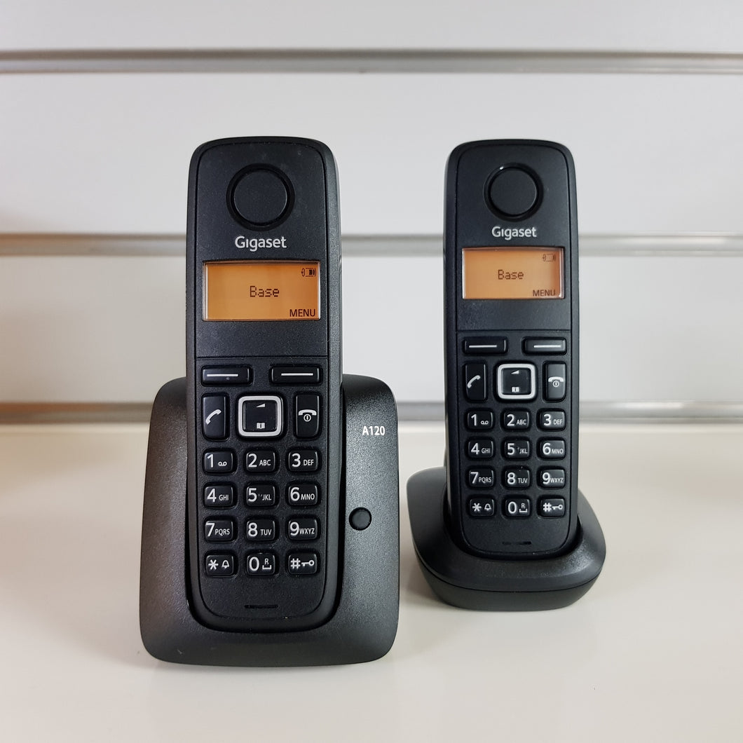 Gigaset A120 Duo Home Phone Set