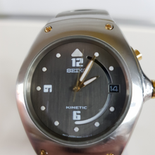 Load image into Gallery viewer, Seiko Kinetic Watch